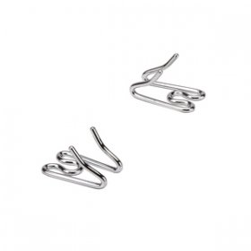 """Cold Kiss"" 3.2 mm Herm Sprenger Link Sizes for Chrome Plated Pinch Collars by HS"