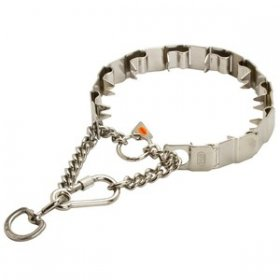 """Sport Master"" Herm Sprenger Stainless Steel Neck Tech Collar"