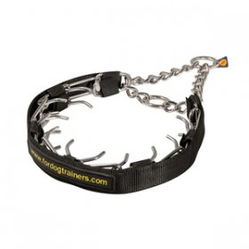 """Strict Trainer"" Herm Sprenger Prong Collar 3.25 mm Stainless Steel Wire"