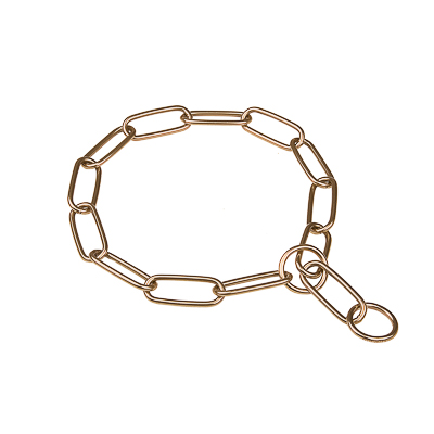 Herm Sprenger Curogan Chain Collar with Long Links